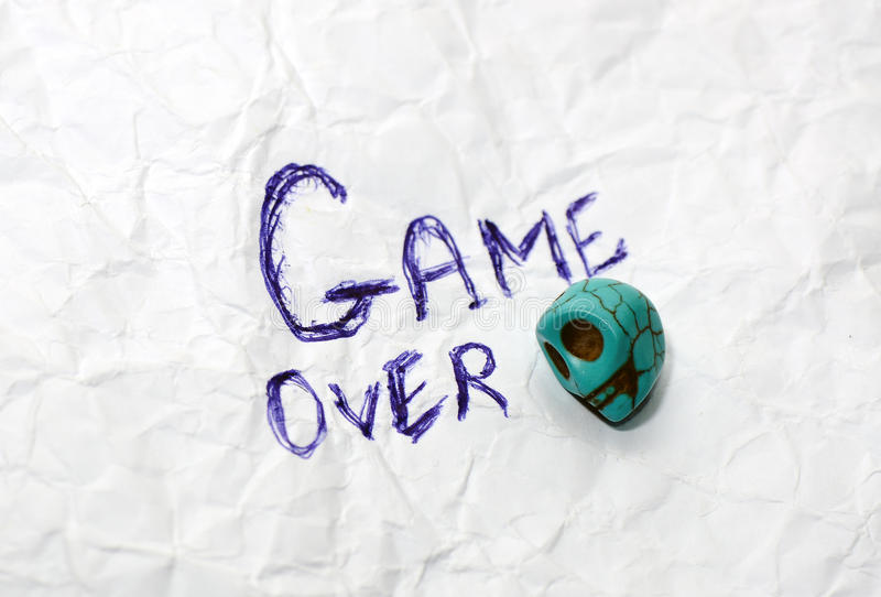 Download Game Over Stock Photo - Image: 36774760