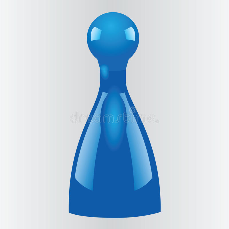Download Game pieces stock illustration. Image of game, plastic - 33967652