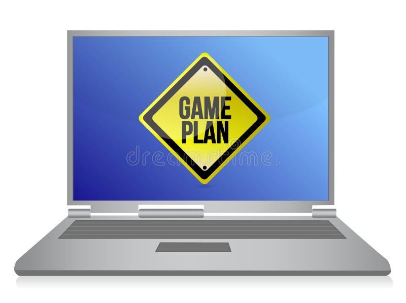 Download Game Plan Computer Illustration Stock Illustration - Illustration: 27463405