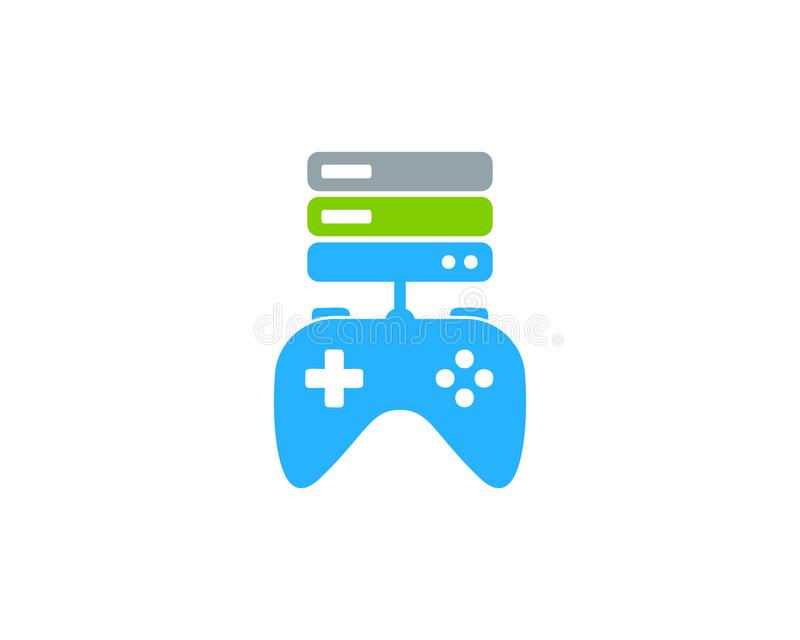 Game Server Logo Icon Design. This design can be used as a logo, icon or as a complement to a design stock illustration