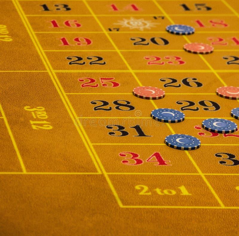 Game table in gambling casino. Game table in gambling casino stock image