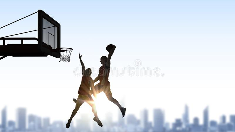 It is game time . Mixed media royalty free stock images