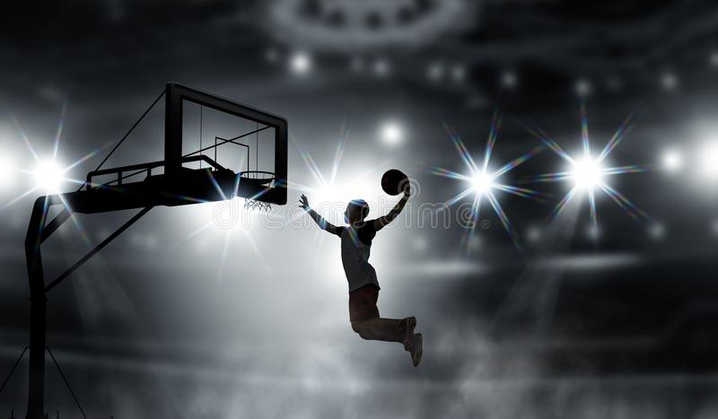 It is game time. Mixed media royalty free stock images