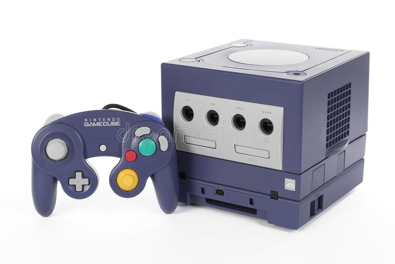 GameCube Robić Nintendo fotografia stock
