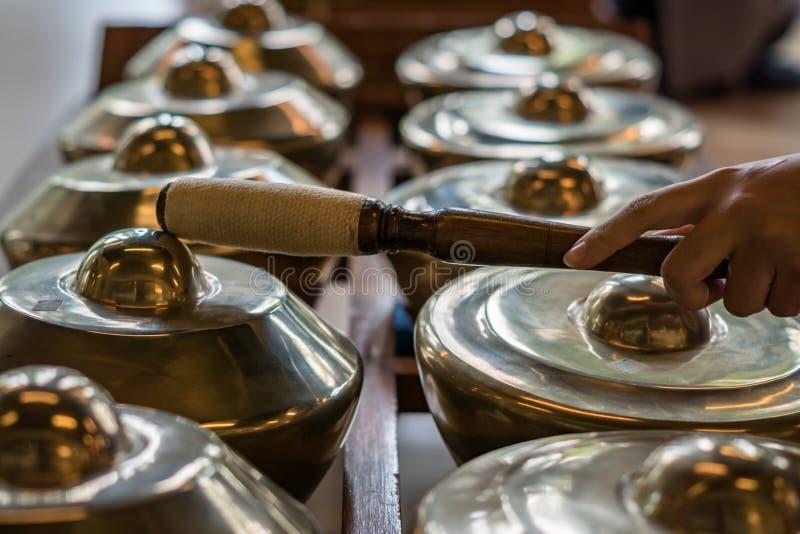 Download Gamelan Traditionella Musikinstrument I Indonesien Arkivfoto - Bild av lopp, traditionellt: 78732248