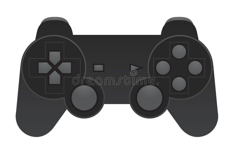 Gamepad. Vector illustration of gaming pad royalty free illustration