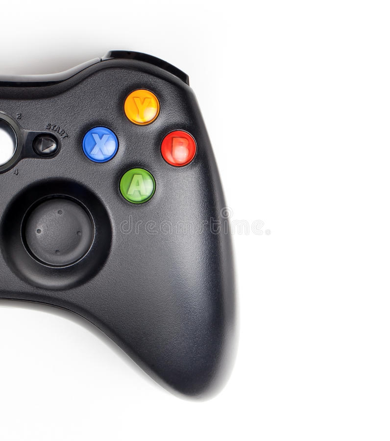 Download Gamepad stock photo. Image of isolated, controller, keypad - 24312148