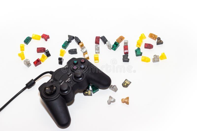 Gamepad 图库摄影