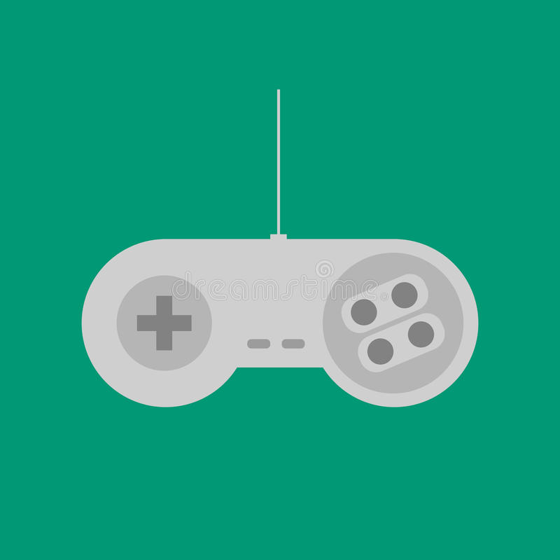 Gamepad Joystick Icon. Gamepad Joystick. Joystick game console. Vector illustration vector illustration