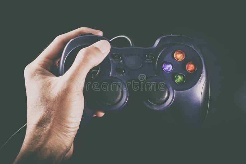 Gamepad para el videojugador imágenes de archivo libres de regalías