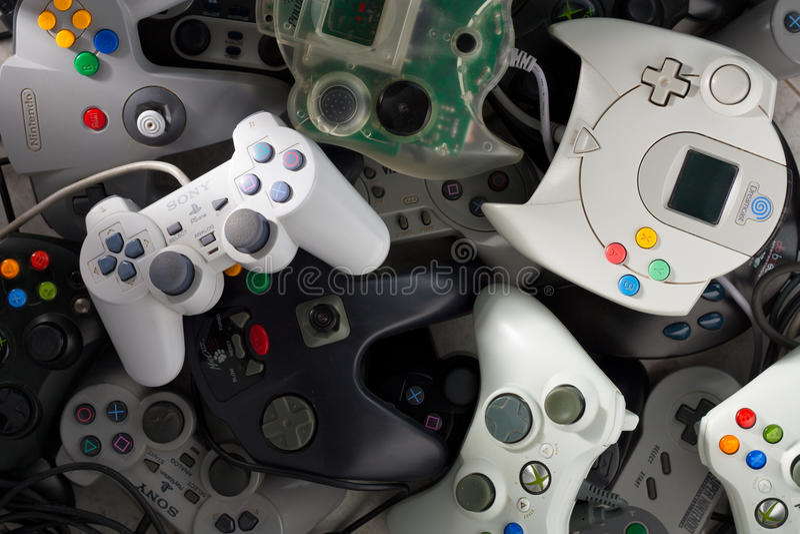 gamepads στοκ φωτογραφία με δικαίωμα ελεύθερης χρήσης