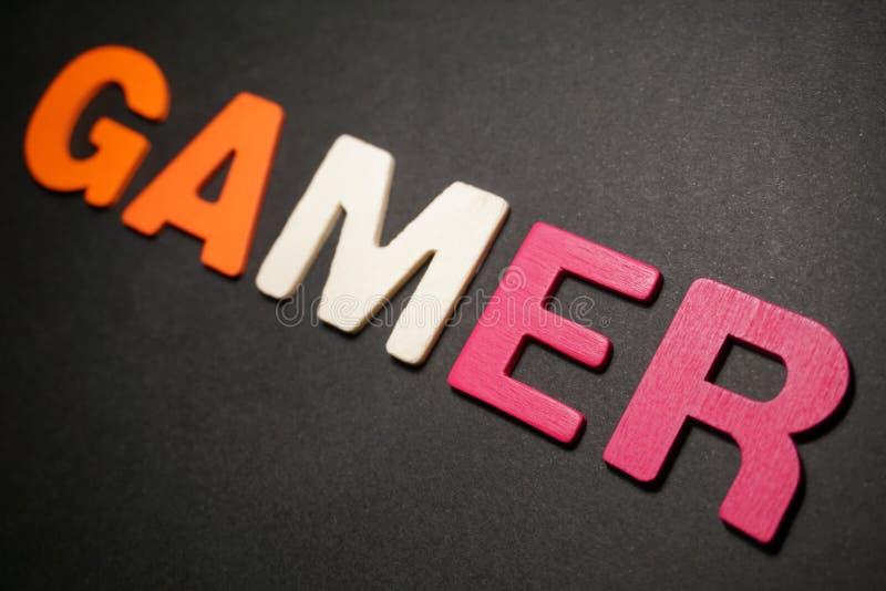 gamer royalty-vrije stock foto's