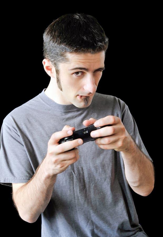 Gamer royaltyfria bilder