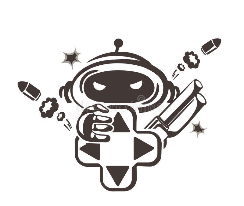 Gamer illustration de vecteur