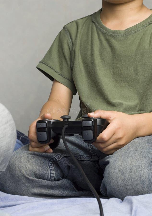 Gamer asiatico del ragazzo fotografie stock