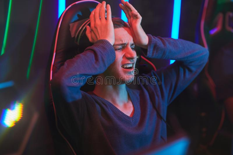 Gamer devastated by losing stock photography