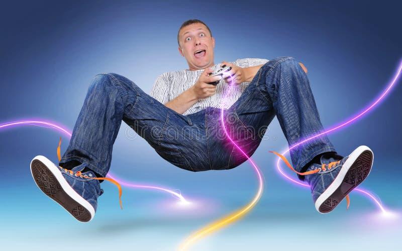 gamer gamepad разрядки цвета электрическое нереальное стоковое изображение rf