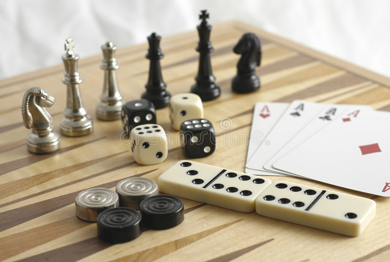 Download Games stock image. Image of checkers, domino, dominos, chance - 101571