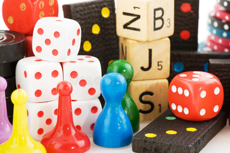 Download Games stock image. Image of white, colorful, plastic - 14152659