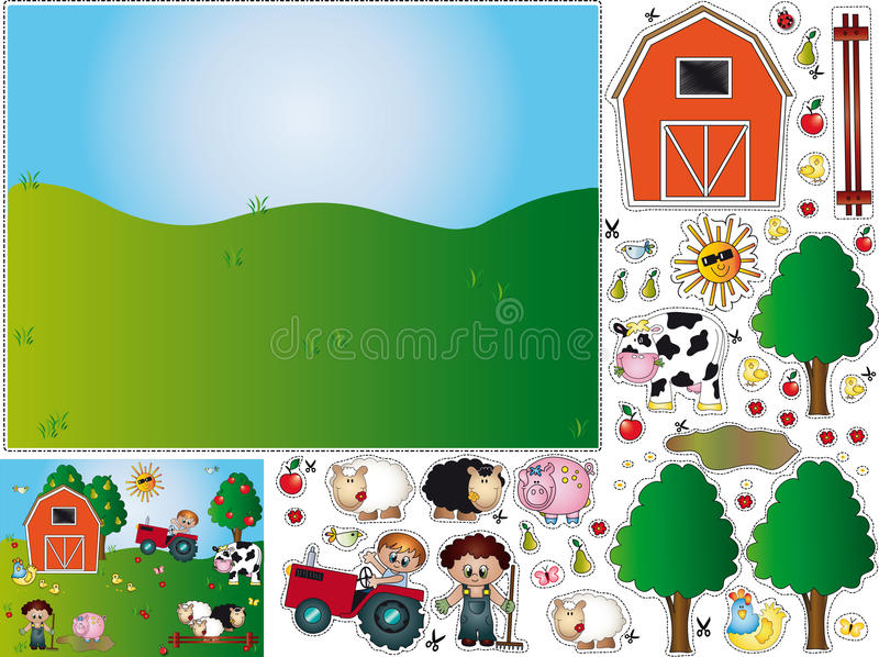Download Games stock illustration. Illustration of grass, birds - 17668324