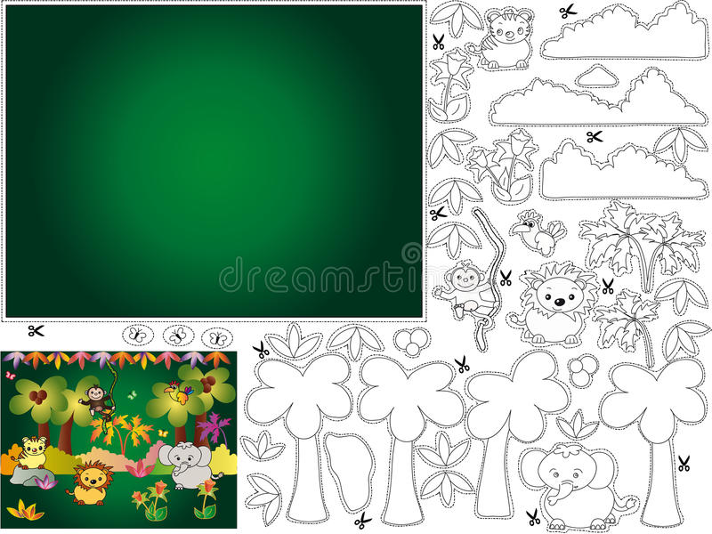 Download Games stock illustration. Illustration of plant, background - 17712639
