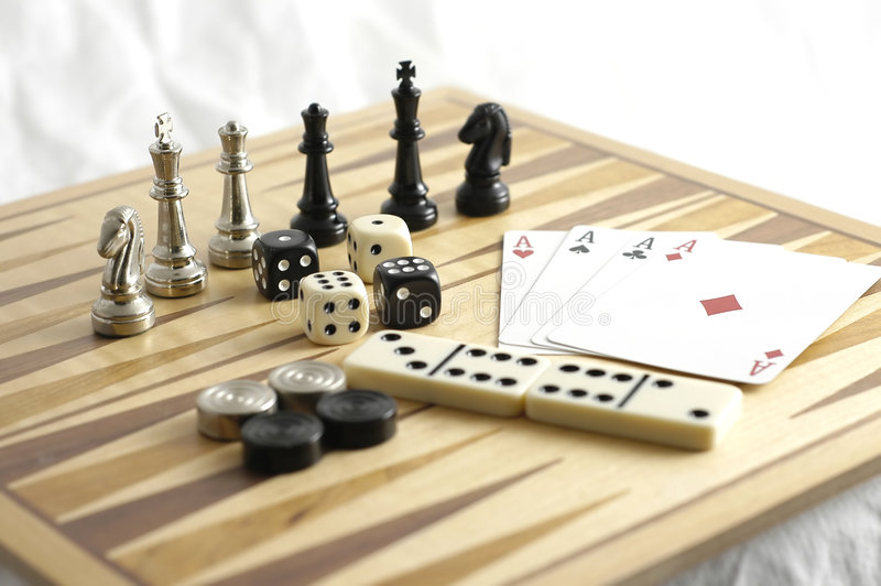 Games 2 royalty free stock image