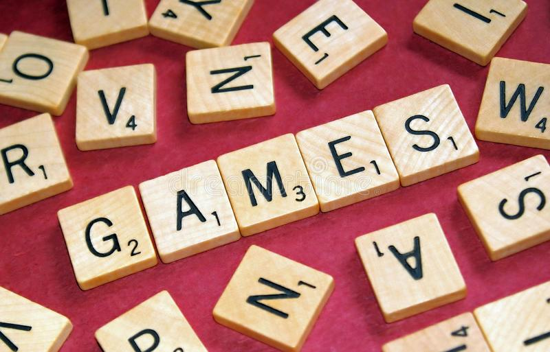 Download Games stock image. Image of letter, word, tile, piece - 27218535