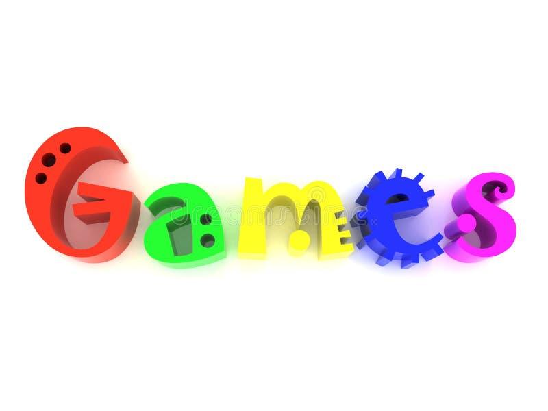 Download Games stock illustration. Image of blue, image, decoration - 8308492