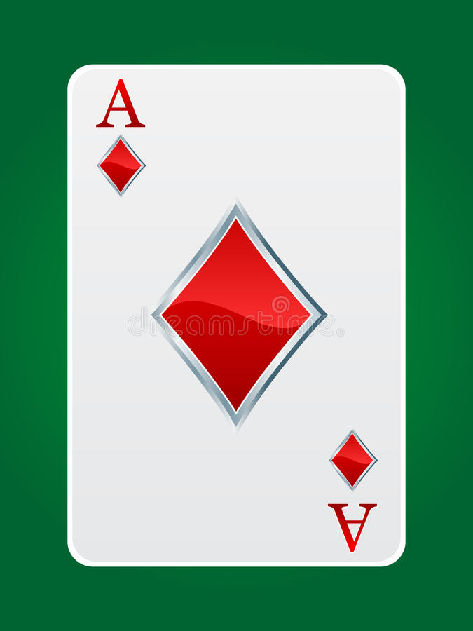 Games Card Ace Stock Photo