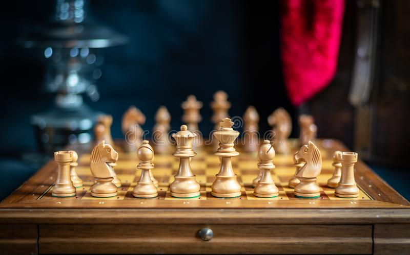 Games, Chess, Board Game, Chessboard royalty free stock image