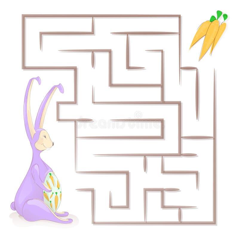 Games for children. Children`s maze. labyrinth Vector illustrations vector illustration