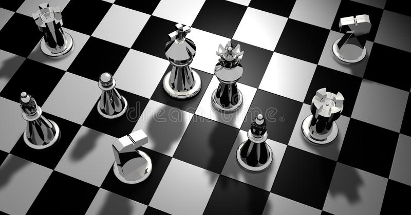 Games, Indoor Games And Sports, Board Game, Chess stock photo