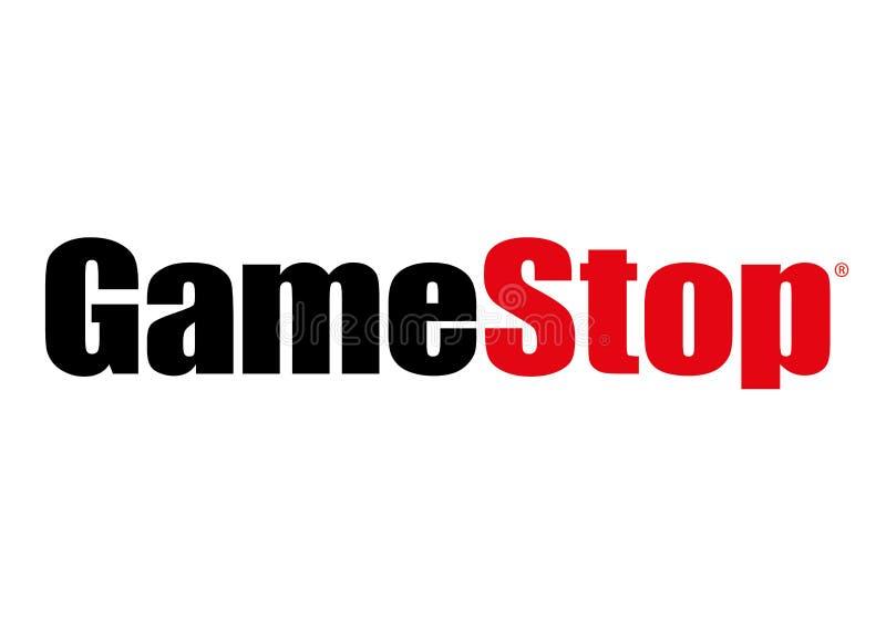 GameStop-Logo lizenzfreie abbildung