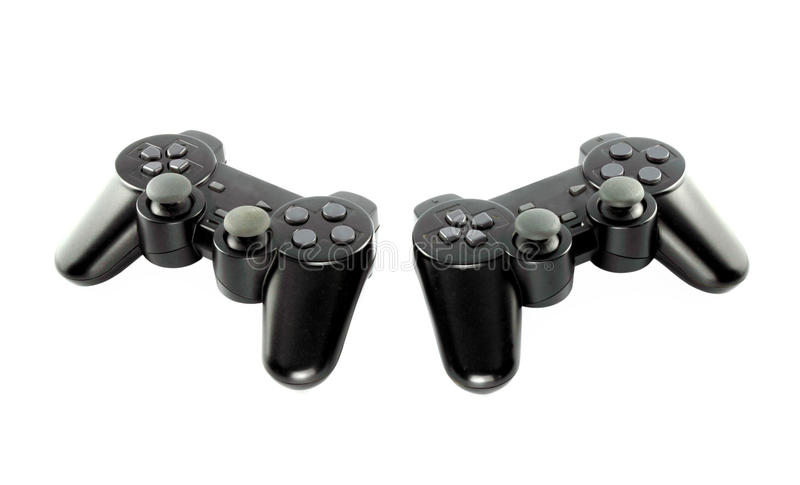 Gaming Console Stock Photo