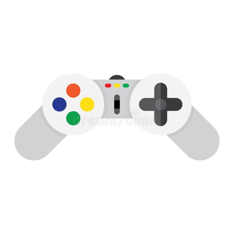 Gaming Joystick Icon. Isolated on White Background royalty free illustration