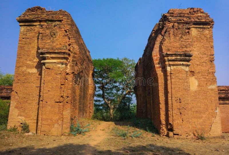 Gamla Bagan royaltyfri bild