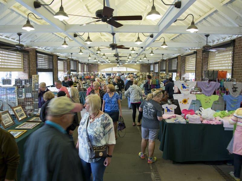 Gamla Charleston Market arkivbilder