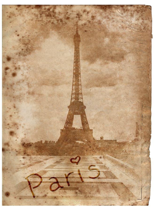 Gamla dagar i Paris royaltyfria bilder