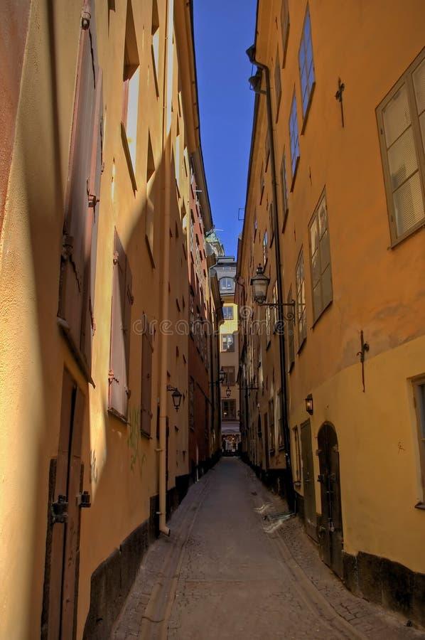 Gamla de Estocolmo stan foto de archivo
