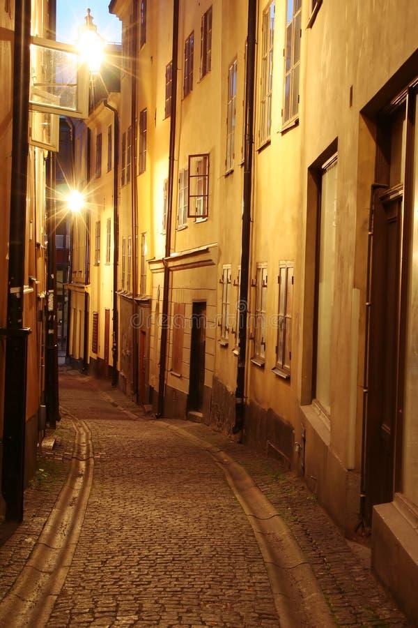 Gamla Estocolmo stan imágenes de archivo libres de regalías