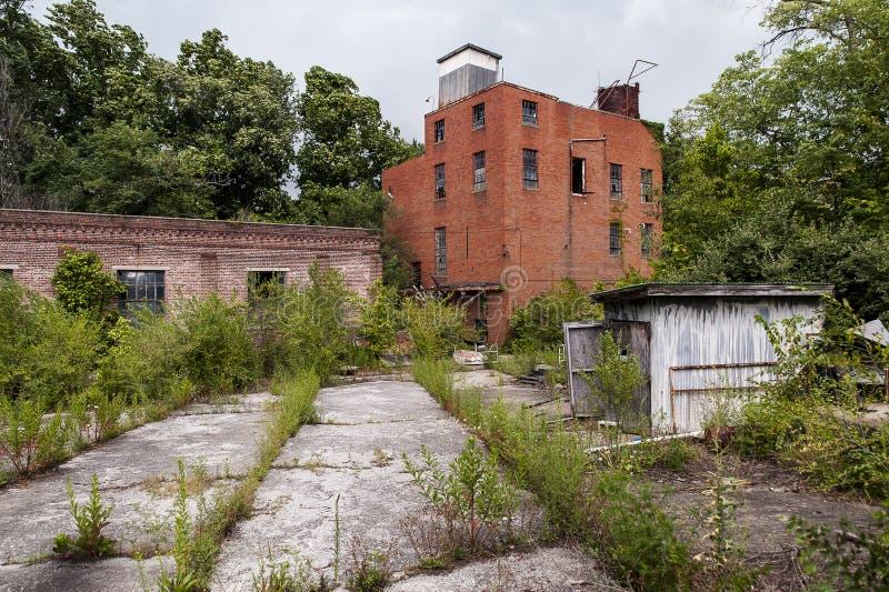 Gamla Louis Hunter Distillery - lya, Kentucky royaltyfria foton