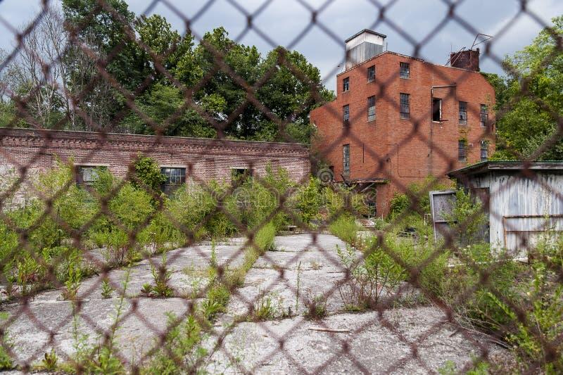 Gamla Louis Hunter Distillery - lya, Kentucky arkivfoton