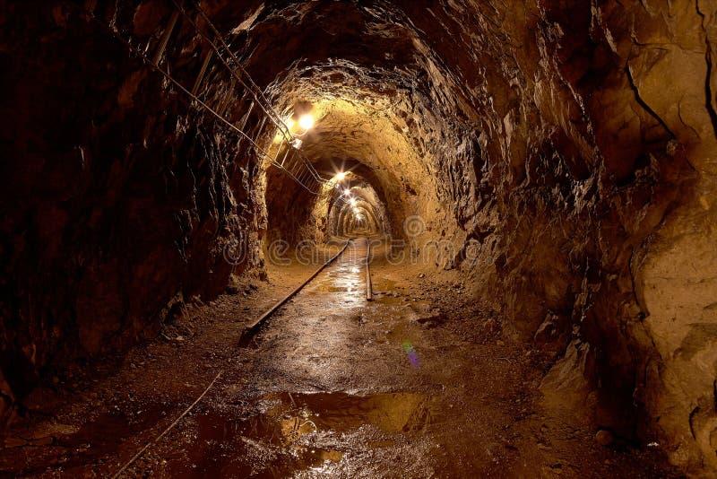 Gamla miner arkivbild