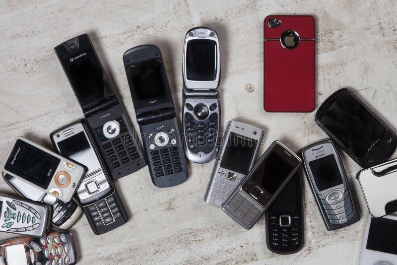 Gamla mobiltelefoner - mobiltelefoner