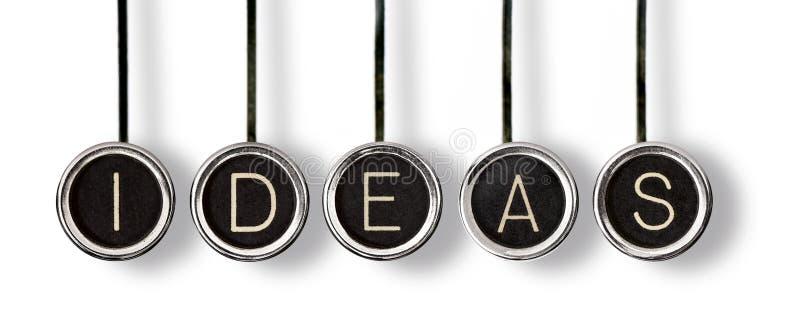Gamla nyckel- idéer arkivbild