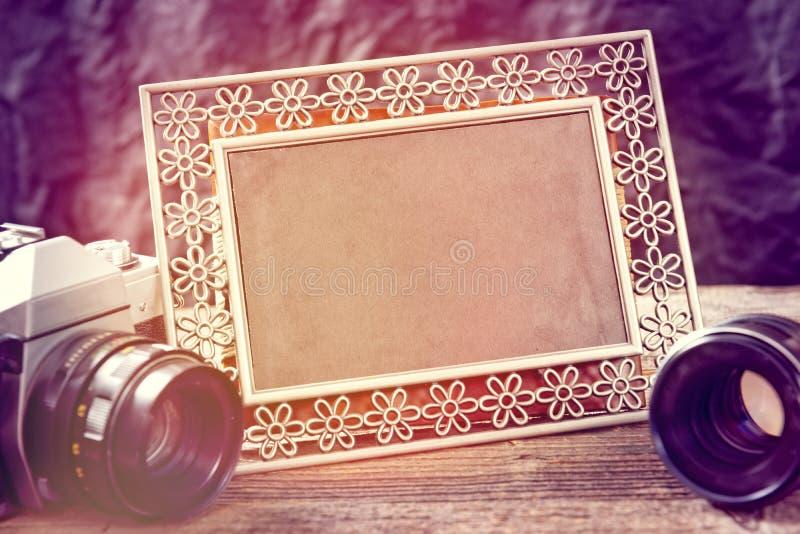 Gamla photograpy objekt fotografering för bildbyråer