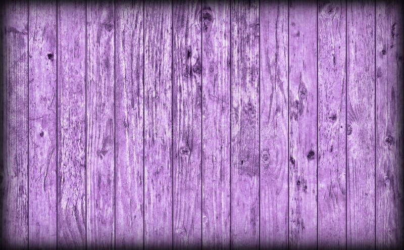 Gamla red ut lantliga knöt lilor sörjer för Vignetted för träplank grov textur Grunge fotografering för bildbyråer