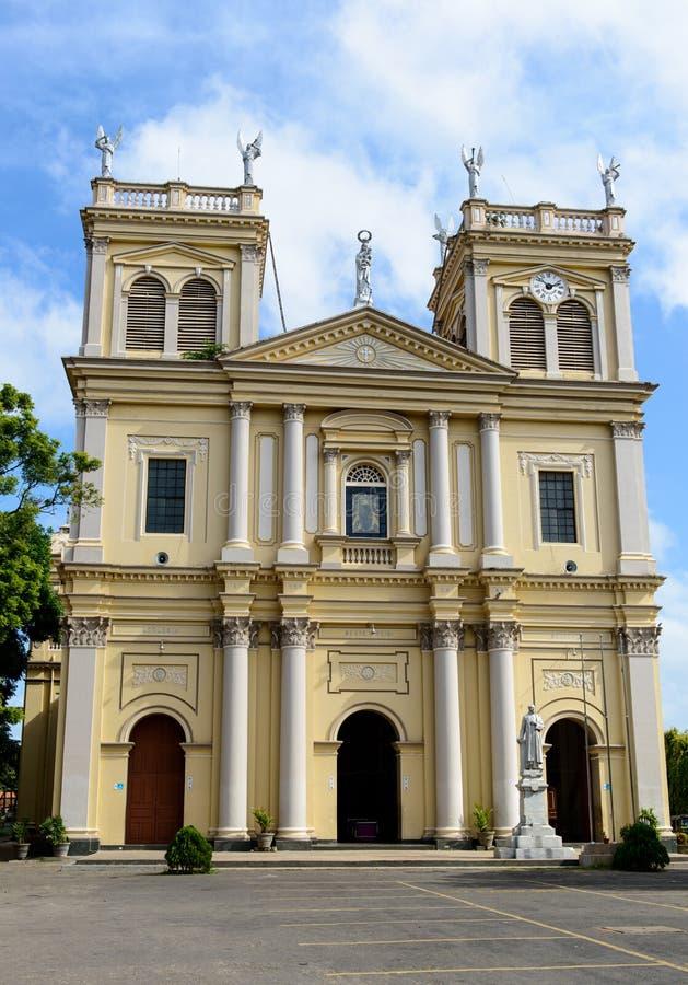 Gamla Roman Catholic Cathedral fotografering för bildbyråer