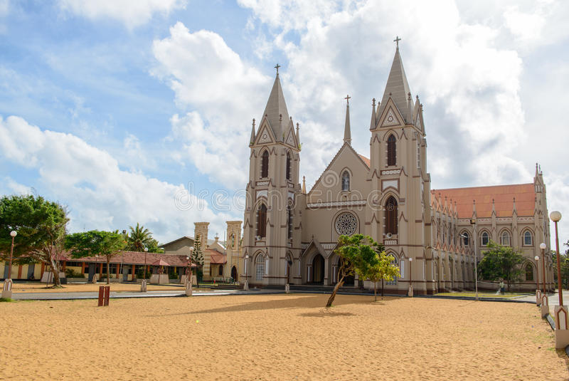 Gamla Roman Catholic Cathedral arkivfoton