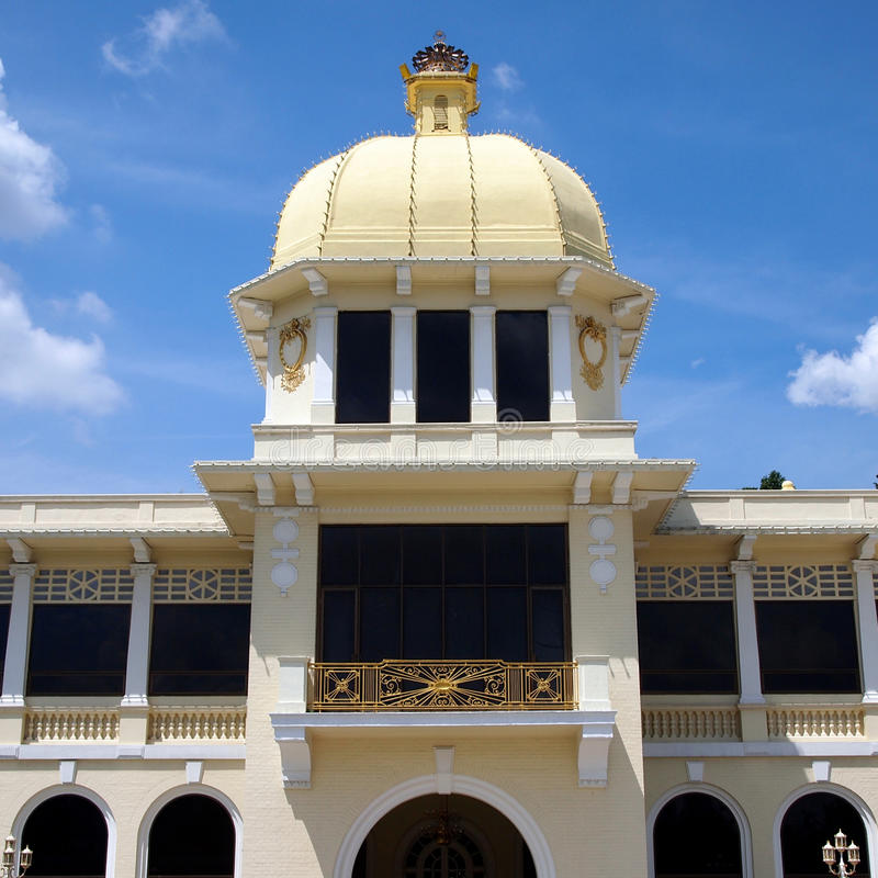 Gamla Royal Palace i Kuala Lumpur arkivfoton